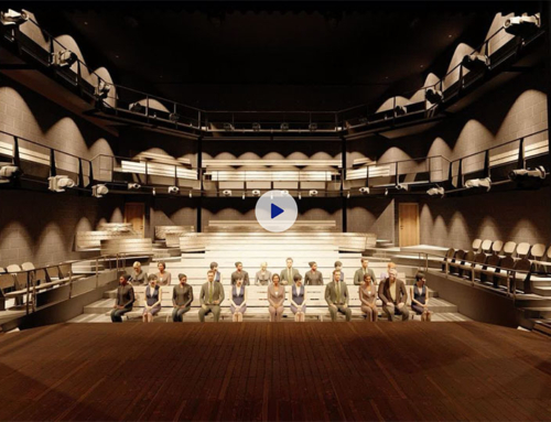 3D Rodean Theatre Visualisation